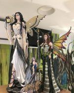 Fées/Anges/Pixies/Dragons/Statues